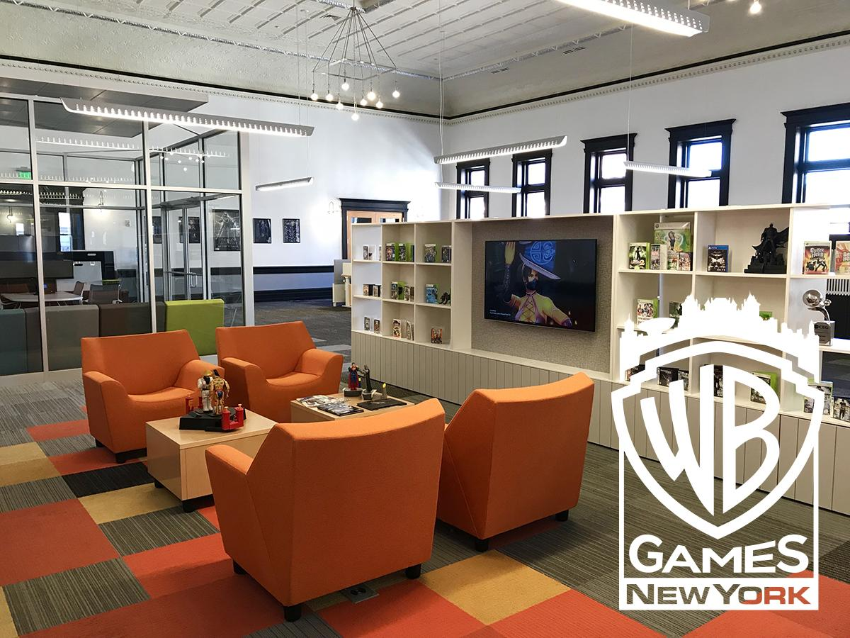 image description wb games office space in troy new york