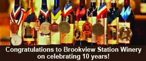 Brookview Station Winery 10 years