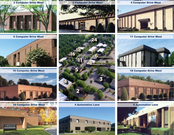 Computer Park is a professional office park minutes away from I-87 and I-90 off Wolf Road in the thriving town of Colonie. We offer tenants the opportunity to select from 10 different buildings, with office suites ranging from 200 - 21,000 SF.