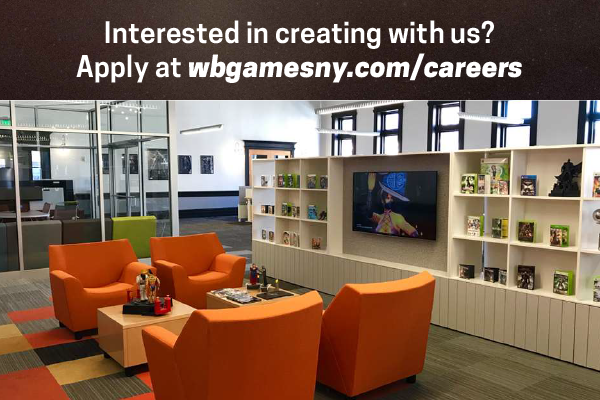 image description WB Games Troy New York office space