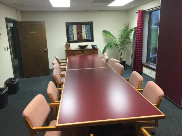 Conference room available for use