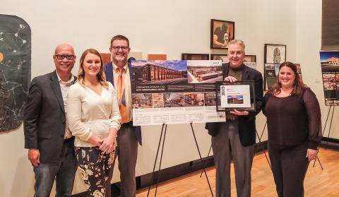 CSArch Receives Award for Design of Coxsackie-Athens High School Library