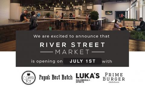 River Street Market Opens July 1