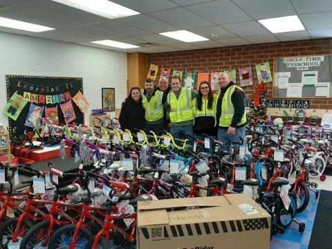 County Waste Bike Donation