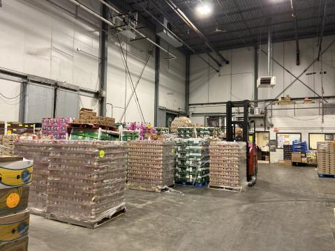 Regional Food Bank warehouse in Latham